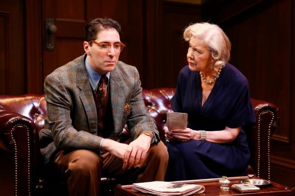 Nicholas Viselli (Michael Starkwedder) and Melanie Boland (Mrs. Warwick)