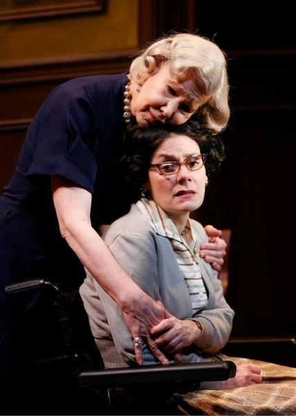 Melanie Boland (Mrs. Warwick) and Ann Marie Morelli (Miss Bennett)