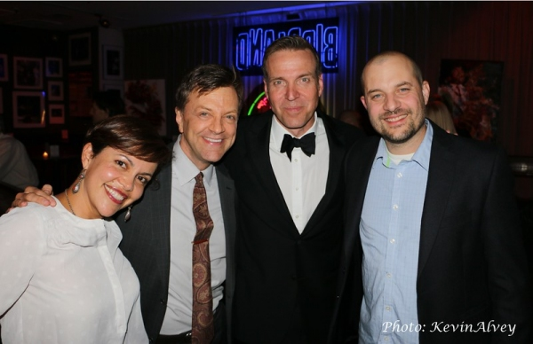 Andrea Brueggemann, Jim Caruso, Todd Murray and Eli Brueggemann