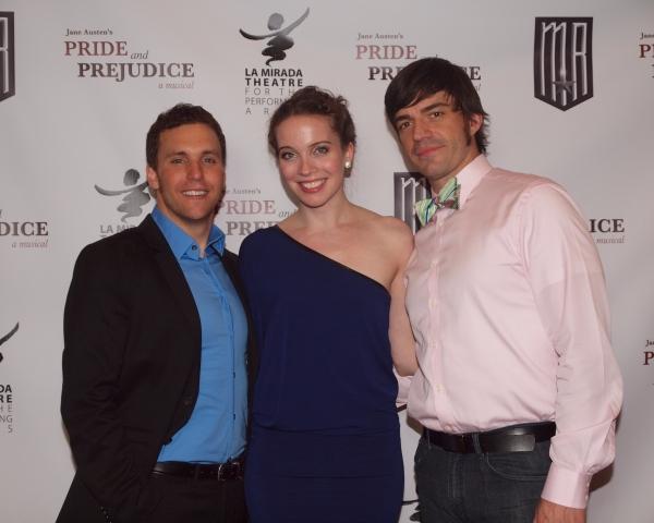 Eddie Egan, Patricia Noonan, and Brandon Andrus