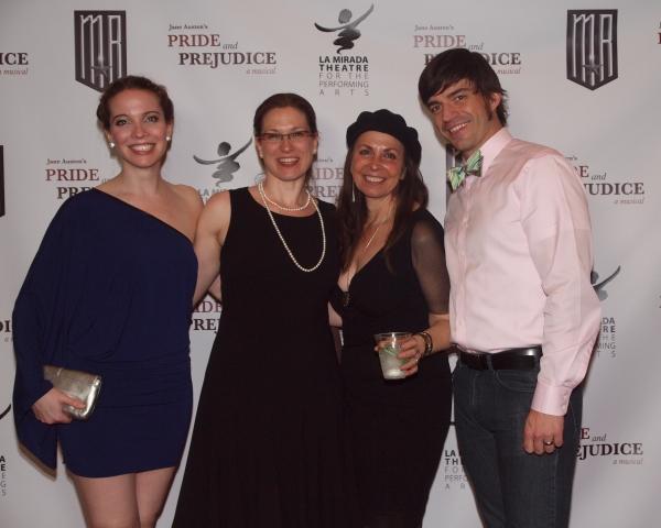 Patricia Noonan, Lindsay Warren Baker, Amanda Jacobs, and Brandon Andrus