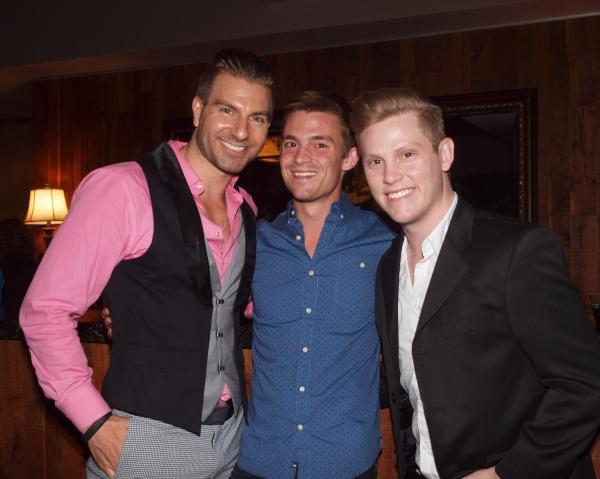 Karl Warden, Tanner Richins, and friend