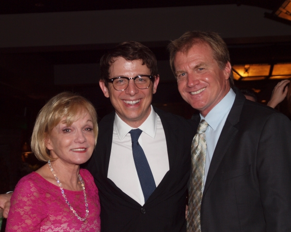 Cathy Rigby, Jeff Skowron, and Tom McCoy