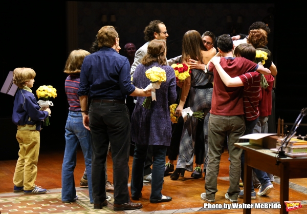 Photo Coverage: FUN HOME Company Takes Opening Night Bows!