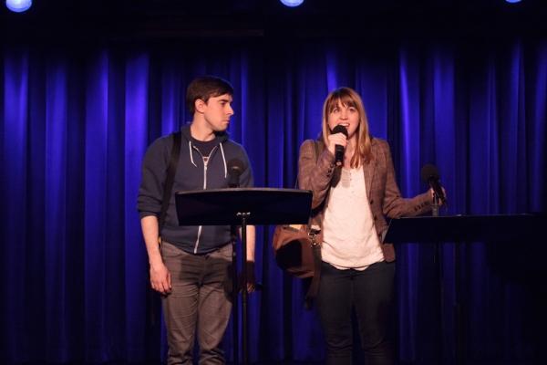 Eric Shorey and Natalie Neckyfarow