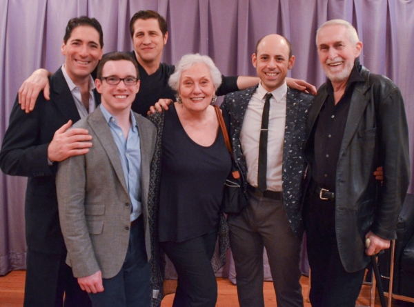 Nicholas Viselli, Christopher Imbrosciano, David Rosar Stearns, Director Victoria Rau Photo