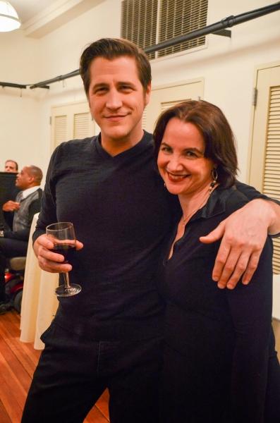 David Rosar Stearns and Pamela Sabaugh Photo