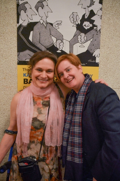 Photo Flash: TBTB Celebrates Opening of Agatha Christie's THE UNEXPECTED GUEST
