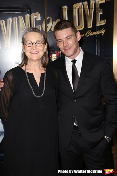 Cherry Jones and Brian J. Smith  Photo