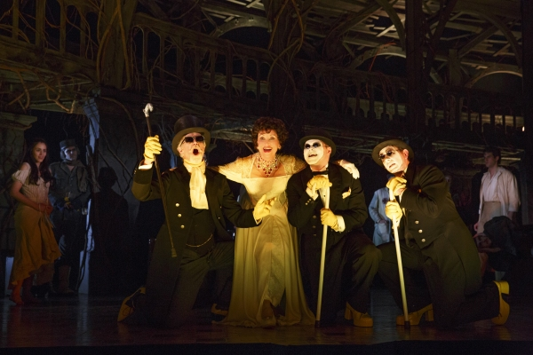 Tom Nelis, Chita Rivera, Chris Newcomer and Matthew Deming Photo