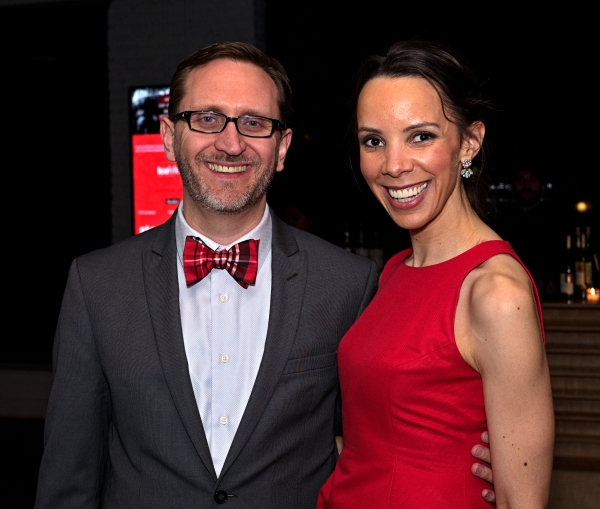 Red or White Ball Honorary Chair and Steppenwolf Managing Director David Schmitz with Auxiliary Council President Aimee Graham