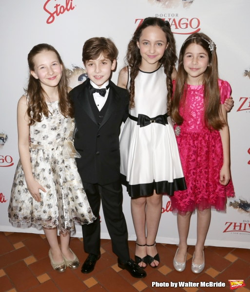 Sophia Gennusa, Jonah Halperin, Ashley Brooke and Ava-Riley Miles
