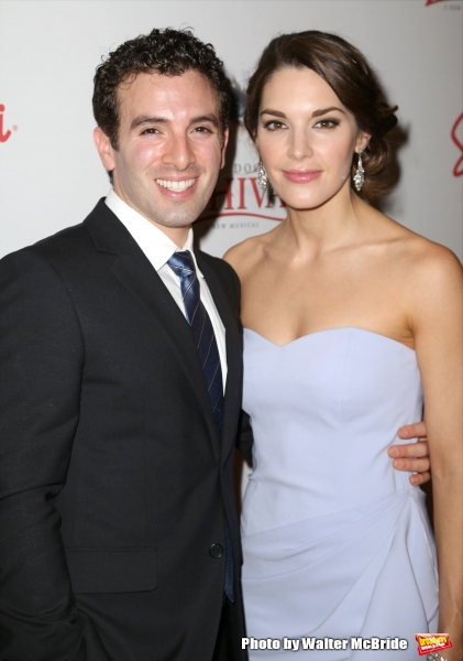 Jarrod Spector and Kelli Barrett