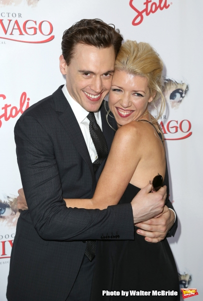 Erich Bergen and Kelly Devine