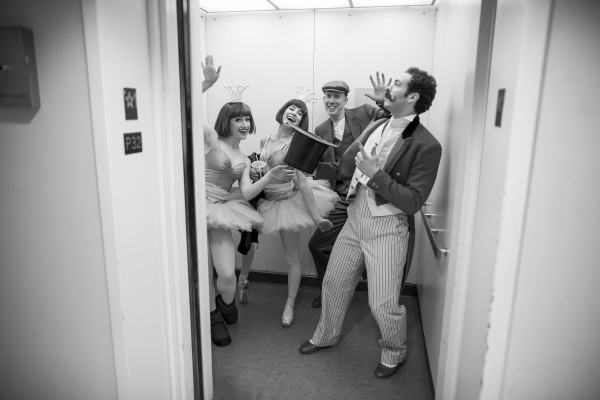 Photo Flash: Behind the Scenes of Lyric Opera of Chicago's CAROUSEL with Laura Osnes & Steven Pasquale!