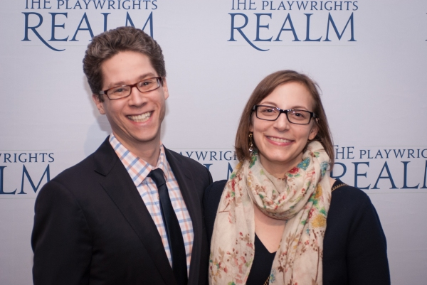 Will Miller and playwright Anna Ziegler
