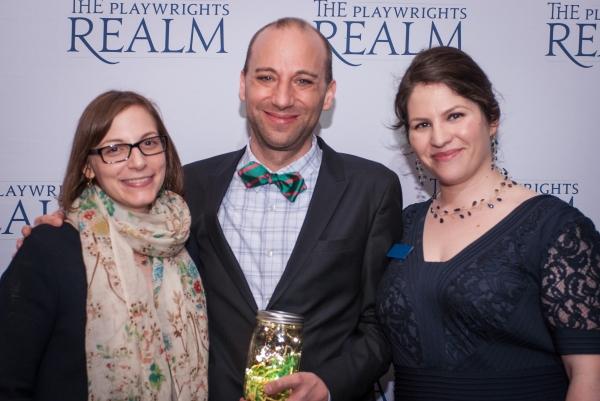 Anna Ziegler, Anton Dudley and Katherine Kovner Photo