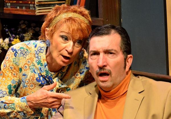 Susan Bowen Powers and Joe Henderson play Fleur & Bob Stein