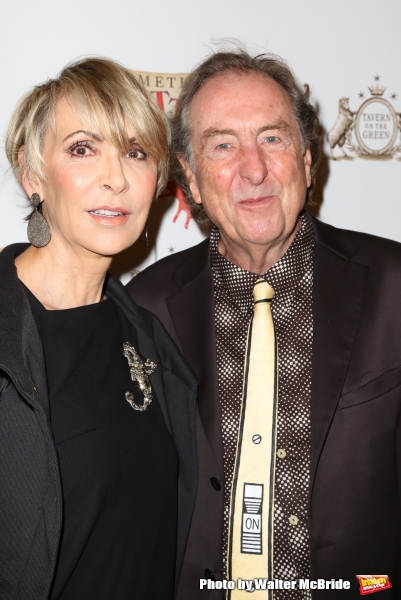 Eric Idle and wife Tania Kosevich  Photo