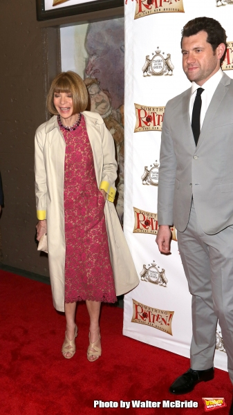 Anna Wintour and Billy Eichner