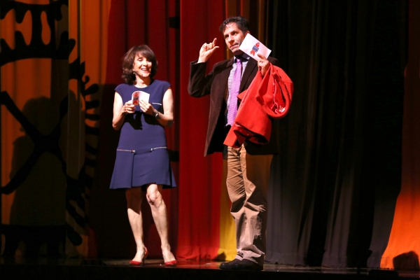 Andrea Martin and Seth Rudetsky. Photo Credit: Daniel Roberts
