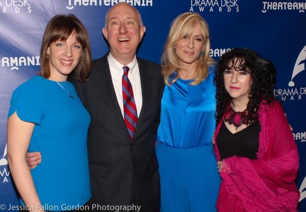 Jessie Mueller, Charles Wright, Judith Light and Barbara Siegel