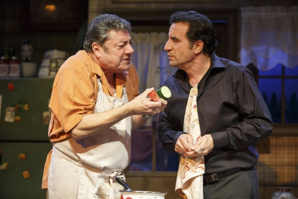 Photo Flash: First Look at Dan Lauria and More in DINNER WITH THE BOYS Off-Broadway