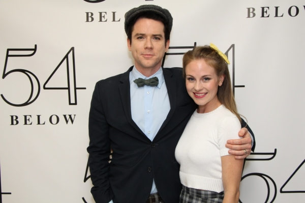 Christian Campbell and Kristen Martin Photo