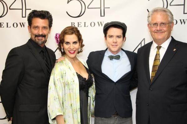 Robert Torti, Lori Alan, Christian Campbell and Harry S. Murphy Photo
