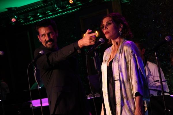 Robert Torti and Lori Alan