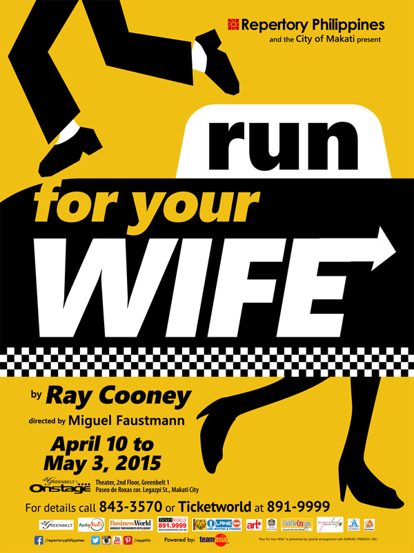 Review Roundup: RUN FOR YOUR WIFE By Repertory Philippines