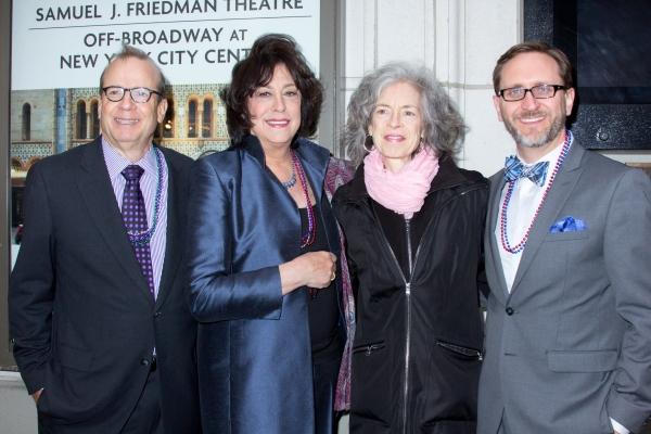 Barry Grove, Lynne Meadow, Martha Lavey, David Schmitz
