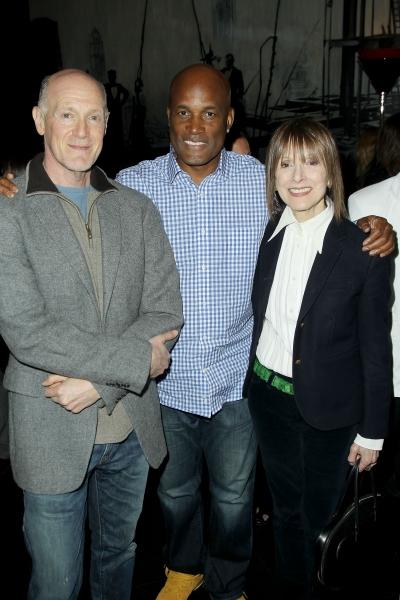 Neil Meron, Kenny Leon, Jean Doumanian Photo