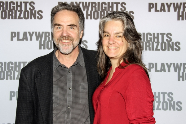 Playwrights Horizons Artistic Director Tim Sanford & director Pam MacKinnon