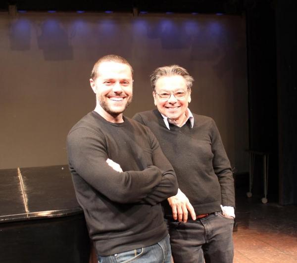 Joshua Bergasse (choreographer) and Bill Castellino (director)