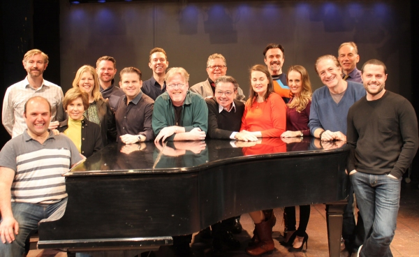 The Company (Left to Right): Matt Perri, David Carpenter, Riki Kane Larimer, Sue Gilad, John Pinckard , Robert Creighton, Jeremy Benton, Christopher McGovern, James Morgan, Bill Castellino, Danette Holden, Josh Walden, Ellen Zolezzi, Bruce Sabath, Andrew