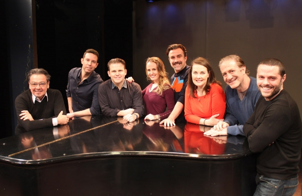 Bill Castellino (director), Jeremy Benton, Robert Creighton, Ellen Zolezzi, Josh Walden, Danette Holden, Bruce Sabath, and Joshua Bergasse