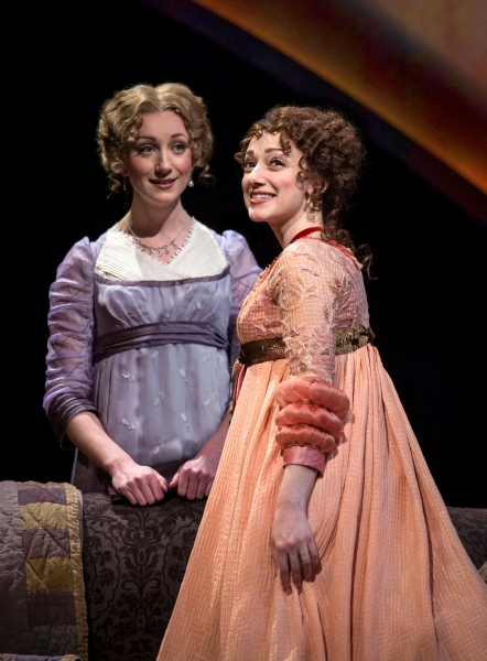 The Dashwood sisters, Elinor (Sharon Rietkerk) and Marianne (Megan McGinnis), are devoted to each other despite their different natures
