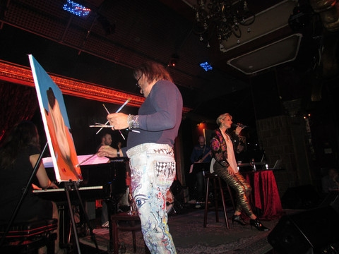 Photo Flash: Adrienne Haan Debuts New Show ROCK LE CABARET! at the Cutting Room