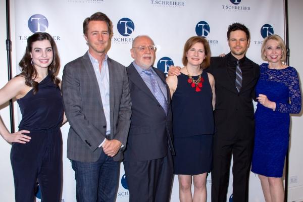 Julia Udine, Edward Norton, Terry Schreiber, Roma Torre, Jonny Orsini, Julie Halston Photo