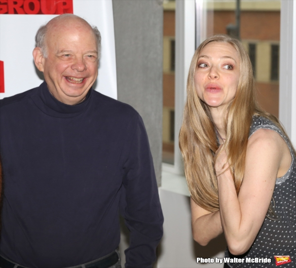 Wallace Shawn and Amanda Seyfried