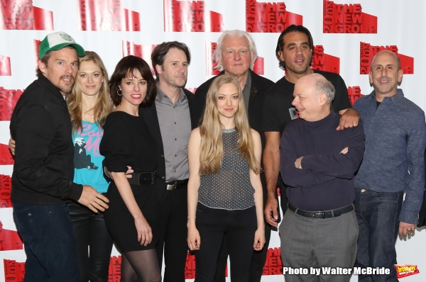 Ethan Hawke, Marin Ireland, Parker Posey, Josh Hamilton, Amanda Seyfried, David Rabe, Wallace Shawn, Bobby Cannavale and Scott Elliott