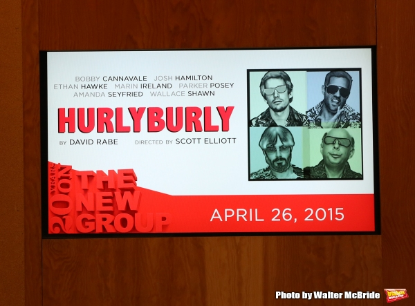 The One-Night-Only Reading of ''Hurlyburly'' to benefit The New Group at Alice Griffin Jewel Box Theatre on April 26, 2015 in New York City.