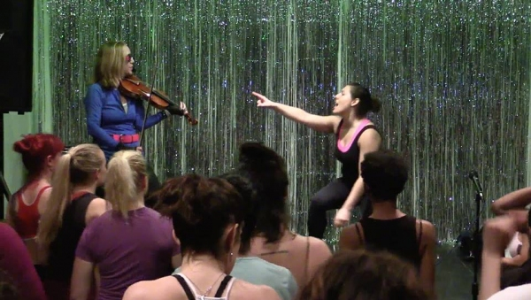 Photo Flash: MARINA's 'High-nrg Fitness LIVE!' in NYC Offers Interactive Musical Theater Workout Experience