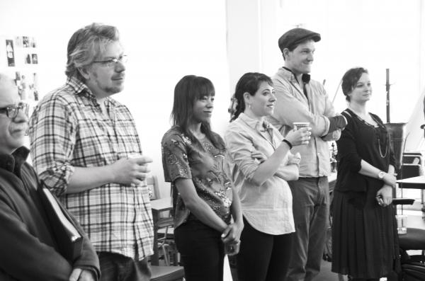 Dave Malloy, Nikki M. James, Rachel Chavkin and Gabriel Ebert Photo
