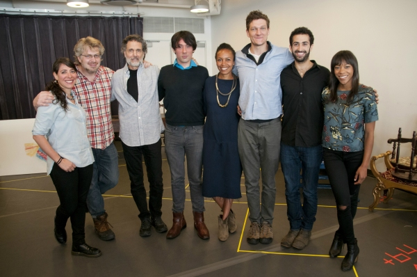 Rachel Chavkin, Dave Malloy, Chris Sarandon, Joseph Keckler, Eisa Davis, Gabriel Ebert, Or Matias and Nikki M. James
