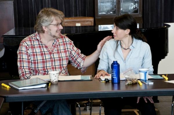 Dave Malloy and Rachel Chavkin