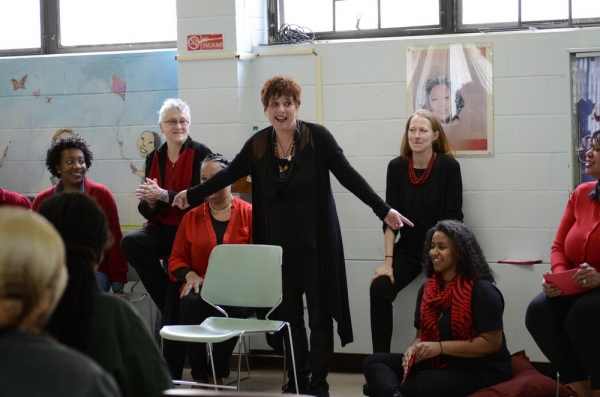 Eve Ensler brings THE VAGINA MONOLOGUES to Taconic Correctional Facility