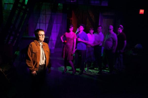 Front: Michael Mahler Back row (L to R) Gail Rastofer, Ed Kross, Kate Buddeke, Michae Photo