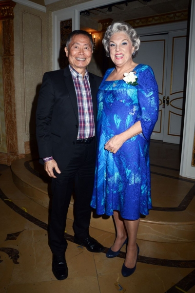 George Takei and Tyne Daly